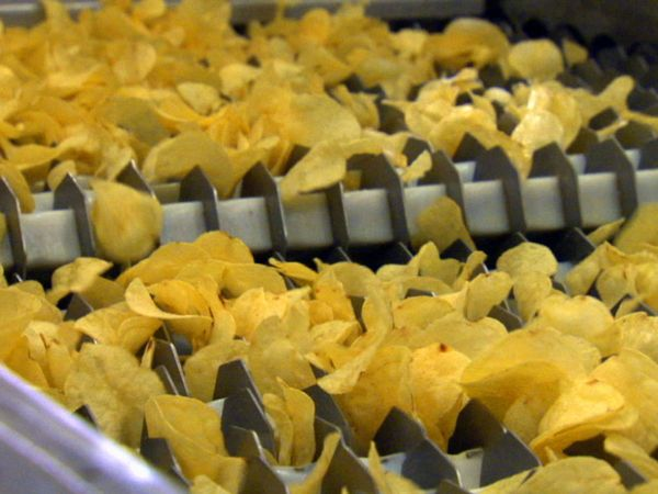 Producing Potato Chips