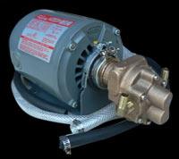 Centrifuge gear pump